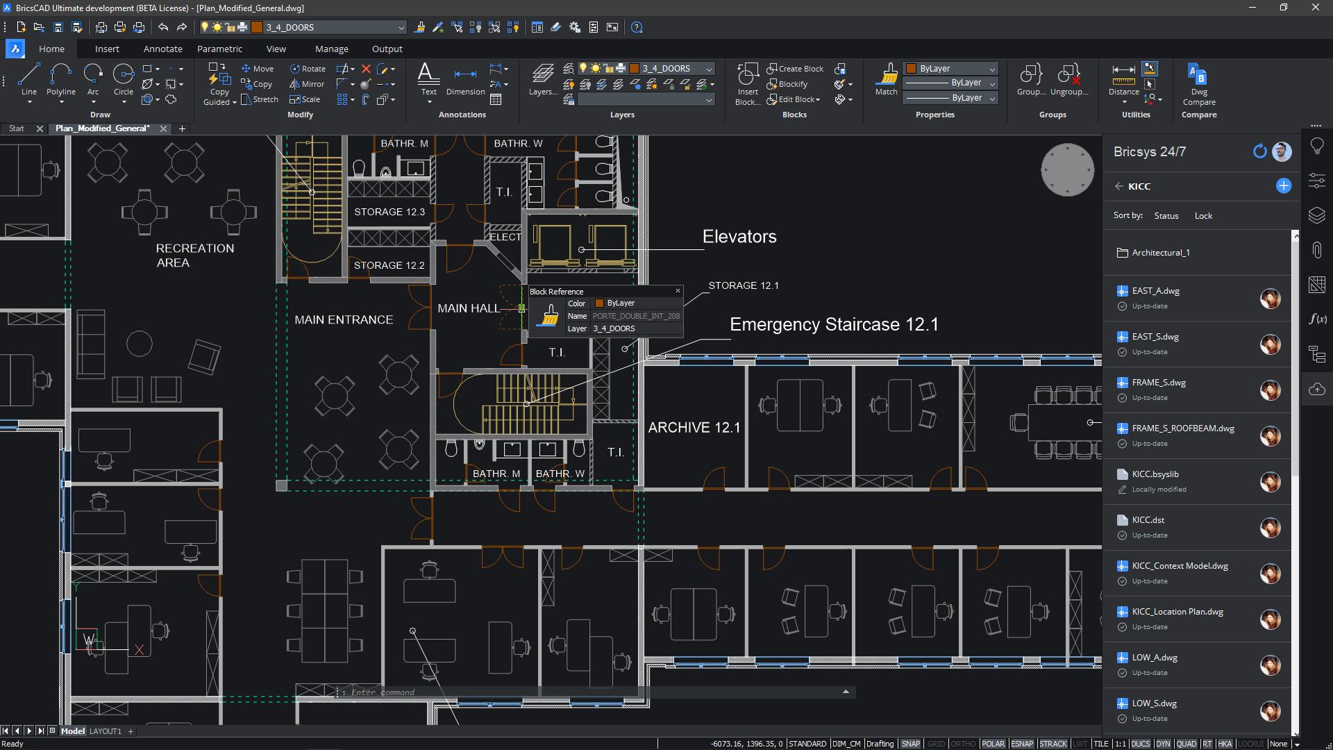 BricsCAD 2D CAD Drawing