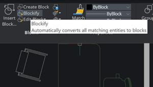 BricsCAD Blockify