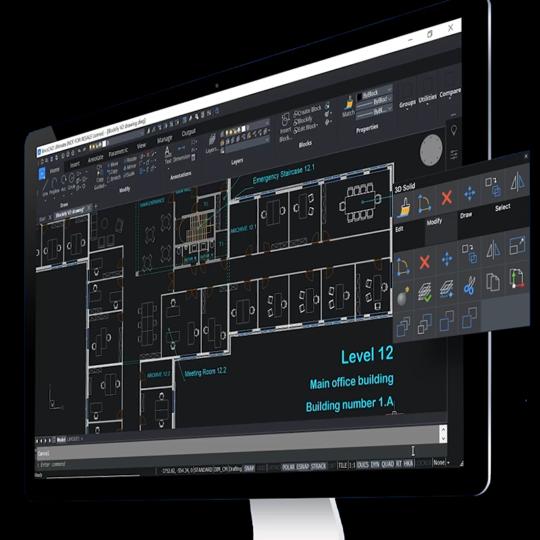 BricsCAD 2D & 3D CAD Software