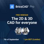BricsCAD Pro: the 2D & 3D CAD for everyone